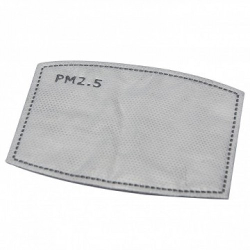 PM2.5 Replaceable Carbon Filter for Face Mask