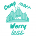 Camp More Worry Less Mug