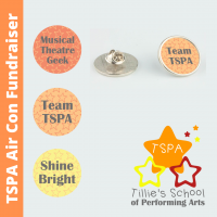 TSPA Fundraiser Pin Badge