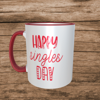 Happy Singles Day Valentines Mug