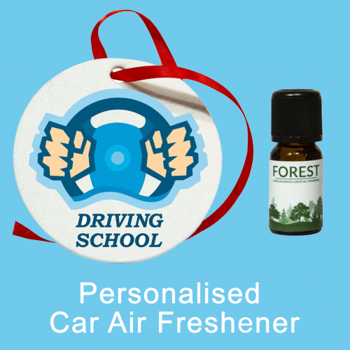 Personalised Car Air Freshener (Pack of 6)