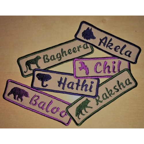 Scout Leader Name Tape SALE