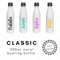 Personalised Name Bowling Bottle