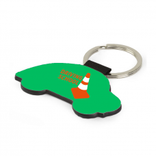 Personalised Faux Leather Car Key Ring
