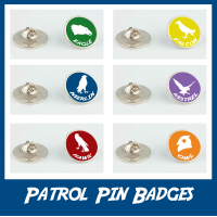 Patrol Pin Badge